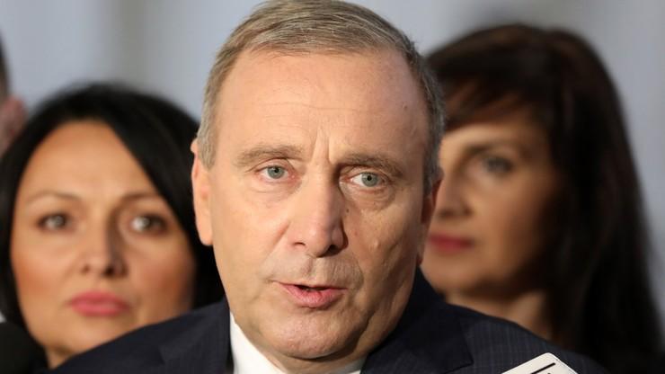 Schetyna: odrzucenie propozycji spotkania Duda-Tusk - nieodpowiedzialne