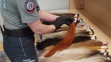 Przemycał do Polski ludzkie włosy. Pukle ważyły prawie 5 kg
