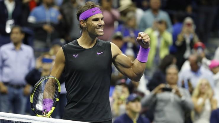 US Open: O tytuł zagrają Nadal i Miedwiediew