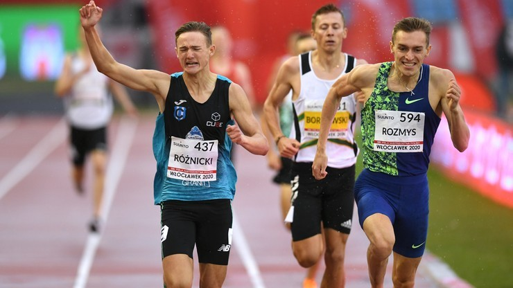Mityng w Spale: Krzysztof Różnicki poprawił rekord Polski juniorów w biegu na 800 m