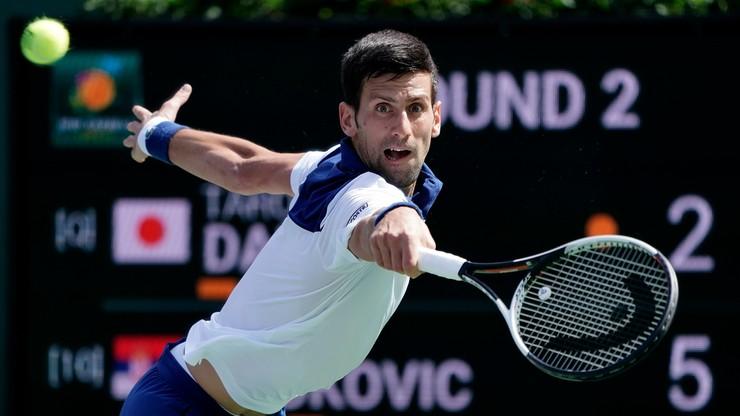 ATP w Miami: Porażka Djokovica