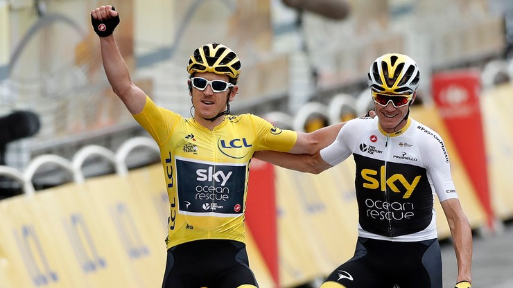 Sukces w Tour de France głównym celem Froome'a i Thomasa