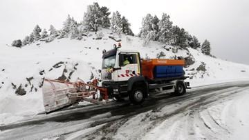 Śnieżyce w Hiszpanii i Portugalii. Jedna osoba nie żyje