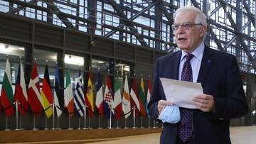 Szef dyplomacji UE: zdecydowaliśmy się nałożyć sankcje na Rosję