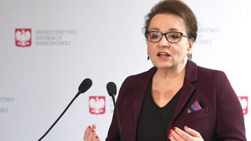 Zalewska żąda przeprosin od Schetyny w związku z wypowiedziami dotyczącymi afery w PCK