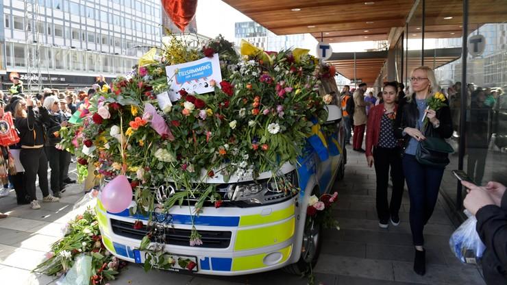 Media: sprawca zamachu w Sztokholmie powiedział, że jest  zadowolony z tego, co zrobił