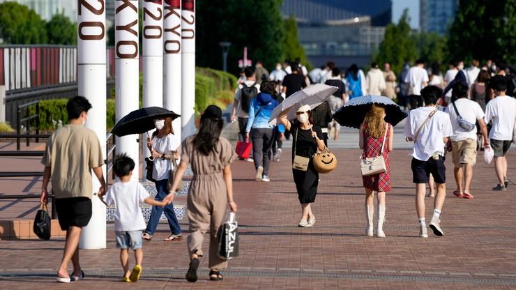 Rekord zakażeń w Tokio. Liczba infekcji rośnie, mimo stanu wyjątkowego