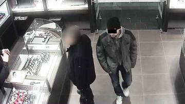 Ujęto sprawcę zuchwałej kradzieży. Włamał się do sklepu jubilerskiego przez szyb wentylacyjny