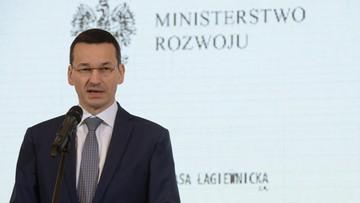 Morawiecki: presja na Polskę ws. emisji CO2 i smogu niepotrzebna