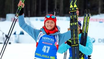 PŚ w biathlonie: Wysoka pozycja Hojnisz-Staręgi w biegu na dochodzenie