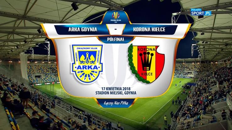 Arka Gdynia Korona Kielce 1 0 Skr U00f3t Meczu Polsat Sport