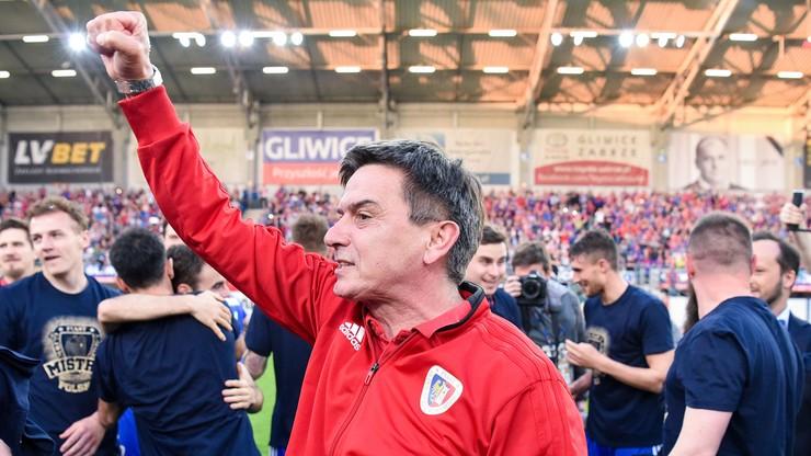 Piłkarze i trener Piasta z wyróżnieniami za mistrzostwo Polski