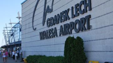 Zaatakował kobietę rozbitą butelką. Niebezpieczne zdarzenie na lotnisku w Gdańsku