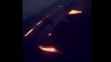Płonący silnik w samolocie z piłkarzami Arabii Saudyjskiej na pokładzie
