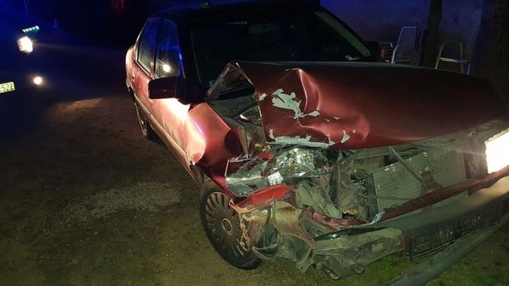 Szaleńczy rajd pijanego 26-latka. Rozbijał samochody, uciekał przed policją