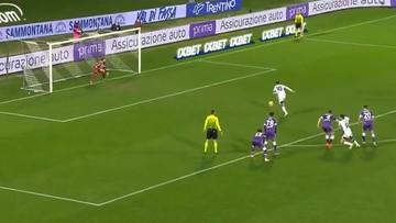 Serie A: Drągowski w efektownym stylu obronił rzut karny (WIDEO)