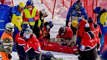 Groźny wypadek w Adelboden. Na miejsce przyleciał helikopter ratowniczy