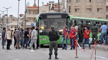 Cztery osoby zginęły, a 32 zostały ranne w wybuchu bomby w Syrii