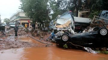 Powódź w Grecji. Nie żyje co najmniej siedem osób