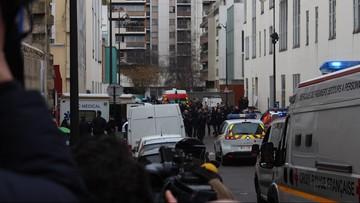 """Trzy osoby zatrzymane w sprawie zamachów na redakcję """"Charlie Hebdo"""""""