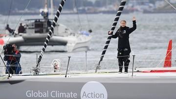 Greta Thunberg płynie na szczyt ONZ zeroemisyjnym jachtem. Jest przeciwna lataniu samolotami