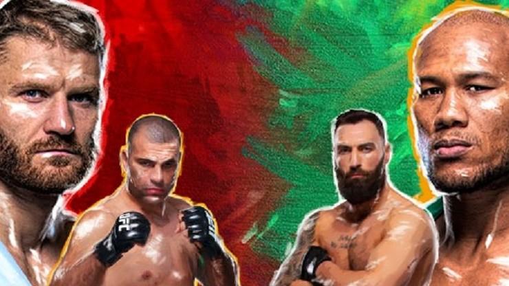 UFC w Brazylii: Błachowicz - Jacare Souza. Karta walk