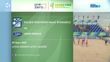 PreZero Grand Prix: Polskie Przetwory Pałac Bydgoszcz - Joker Świecie 0:2. Skrót meczu