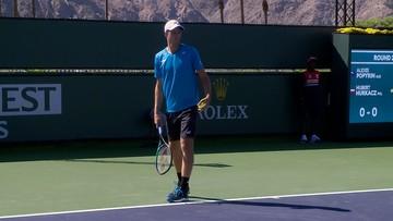 ATP w Indian Wells: Hurkacz lepszy od Australijczyka