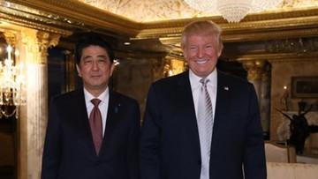 Premier Japonii: Trump to lider godny wielkiego zaufania