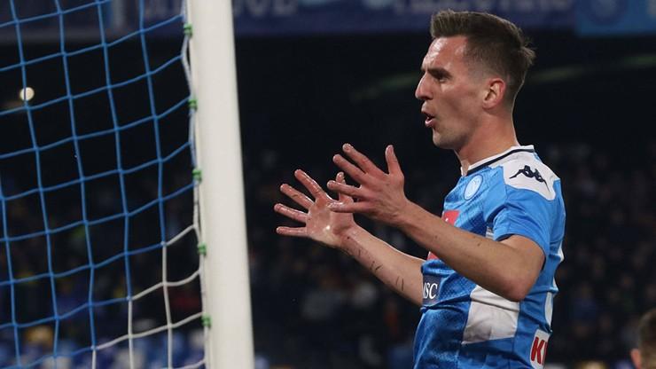 Setny mecz Milika w Napoli. Porażka z Fiorentiną