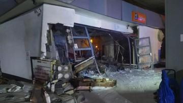 Wybuch gazu na stacji paliw. Dwie osoby ranne