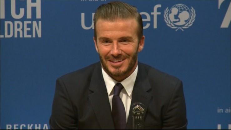 Beckham woli rugby od piłki nożnej