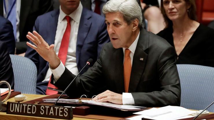 USA zamrożą kontakty z Rosją, jeśli nie przerwie bombardowań Aleppo