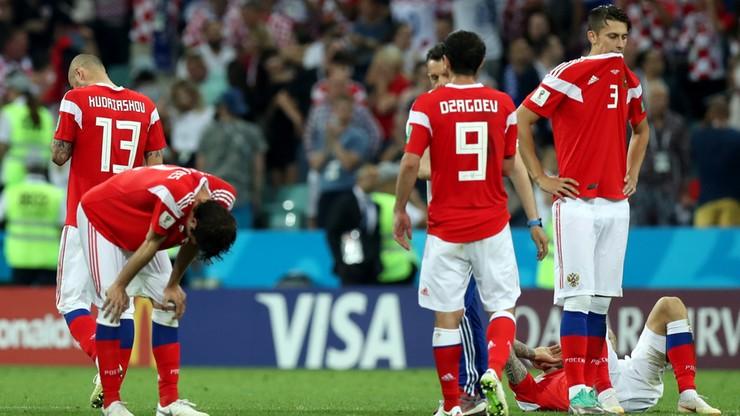 MŚ 2018: Rosyjscy kibice podziękowali swoim piłkarzom i trenerowi