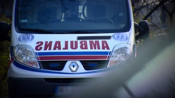 Atak z nożem na ratownika medycznego w Warszawie