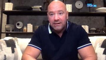 Dana White specjalnie dla Polsatu Sport: Gala UFC w Polsce? To możliwe