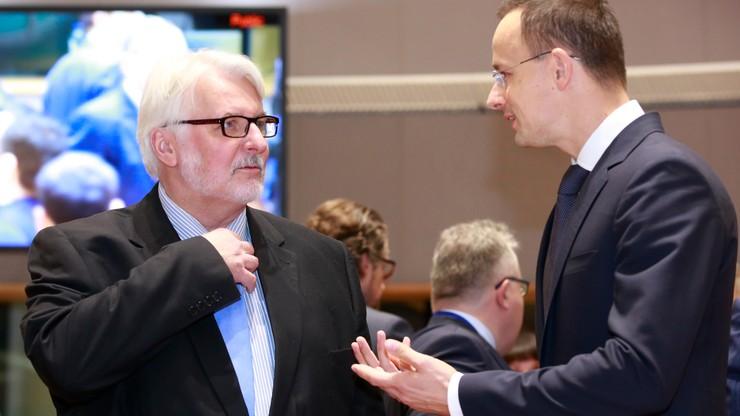 Szef MSZ skrytykował zamiar przyjęcia przez Parlament Europejski rezolucji odnoszącej się do sytuacji w Polsce