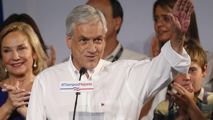 Były prezydent Sebastian Pinera wygrał pierwszą turę wyborów prezydenckich  Chile
