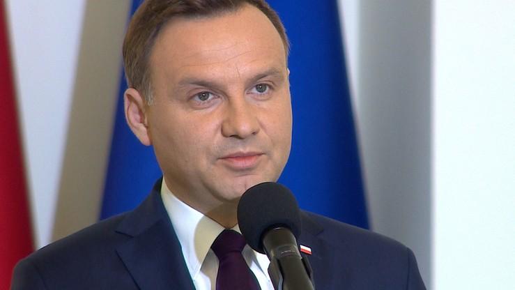 Prezydent Duda poleci do Brukseli. Spotka się z Tuskiem i dowództwem NATO