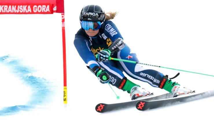 Alpejski PŚ: Imponujące zwycięstwo 18-latki