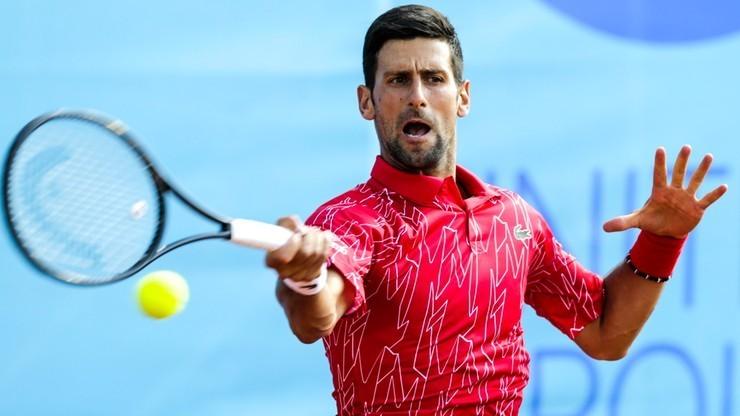 Ranking ATP: Djokovic na czele w pierwszej edycji od marca