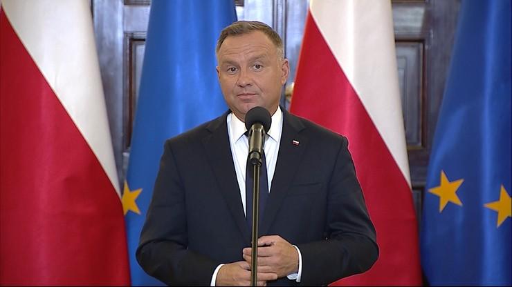 Nowy rok szkolny. Prezydent Andrzej Duda: nie przewidujemy wprowadzania lockdownu w szkołach