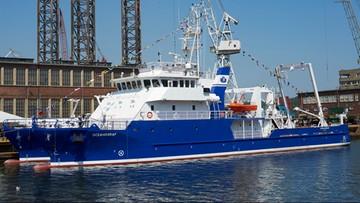Najnowocześniejszy statek naukowo-badawczy na Bałtyku - ma go Uniwersytet Gdański