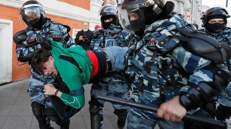 OWD-Info: podczas sobotnich demonstracji w Rosji zatrzymano 352 osoby