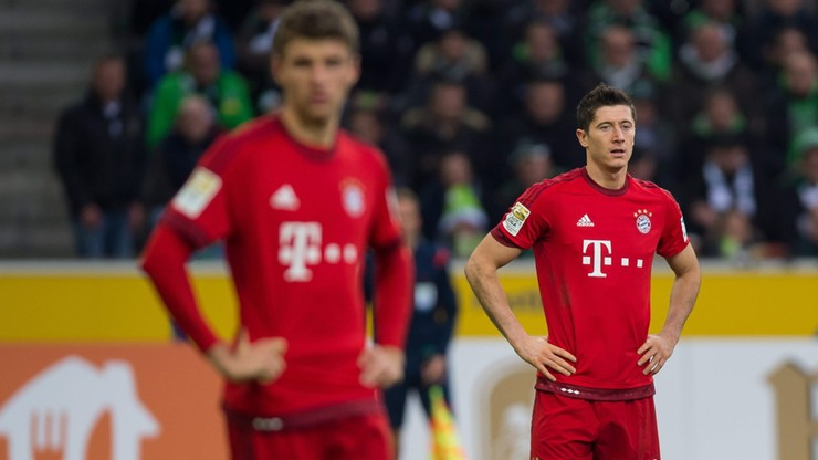 Bayern poległ 1:3. Lewandowski bez gola