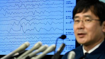 Silne trzęsienie ziemi i tsunami w Japonii w okolicy Fukushimy
