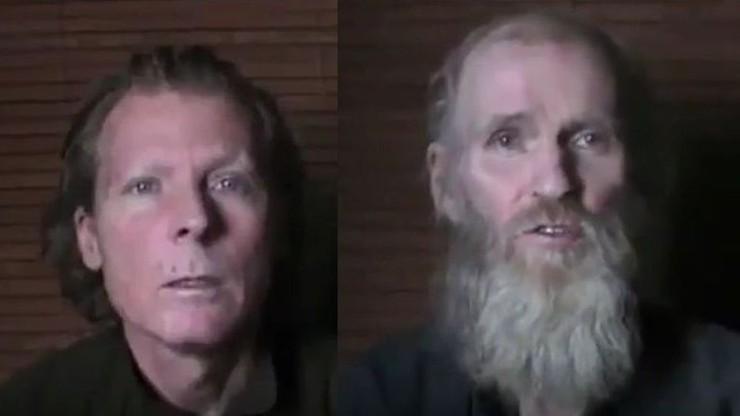 Talibowie opublikowali wideo z porwanymi obcokrajowcami
