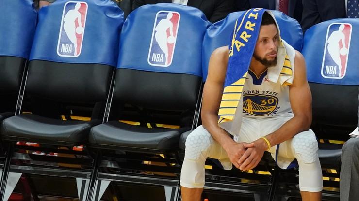 NBA: Popis Hardena! Poważna kontuzja Curry'ego