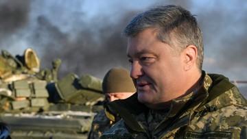 Poroszenko wezwał NATO do wysłania okrętów wojennych na Morze Azowskie
