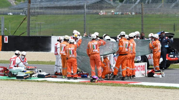 19-latek w stanie krytycznym po wypadku w kwalifikacjach Moto3